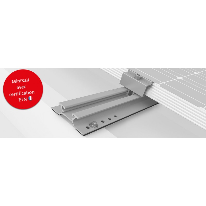 Structure Montage Toiture Bac Acier - Mini Rail K2 System