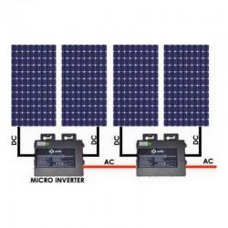 Kit solaire autoconsommation SHINGLE 1600Wc