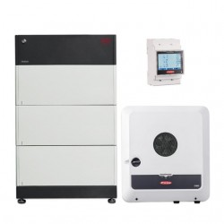 Kit solaire autoconsommation Hybride 6.0 avec batteries - 5920Wc - 7.7kWh