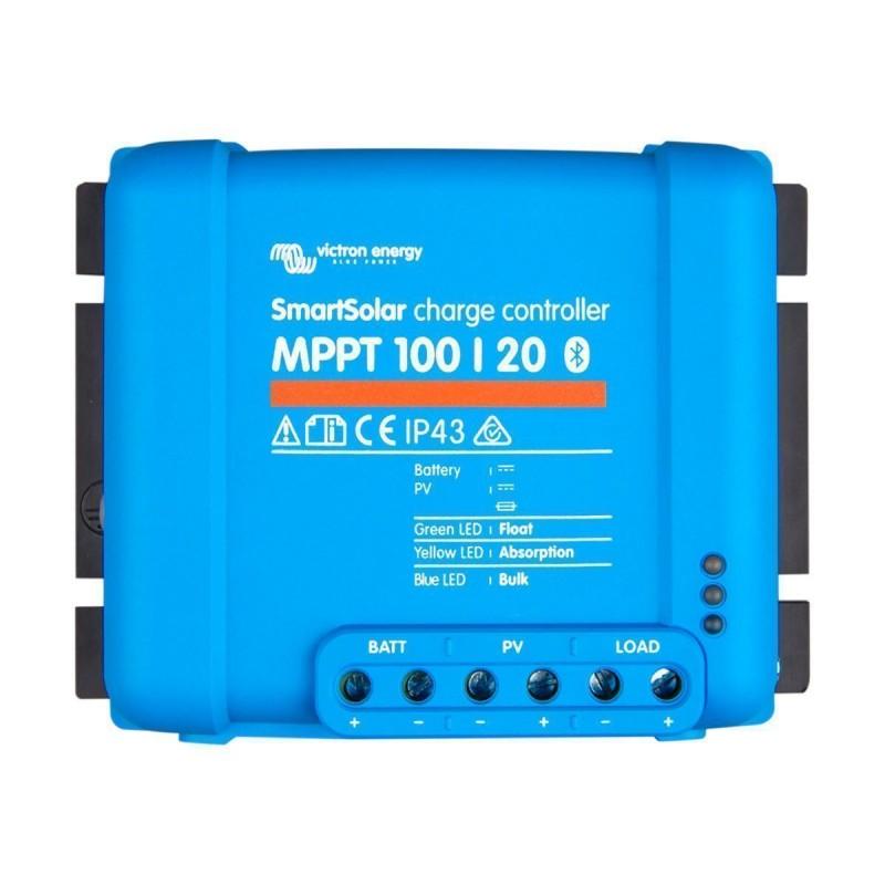 Regulateur de charge solaire - Victron Energy - MPPT SmartSolar 100/20