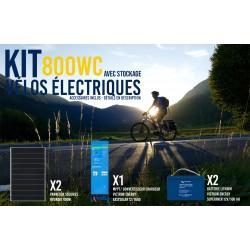 Kit solaire autonome vélos...