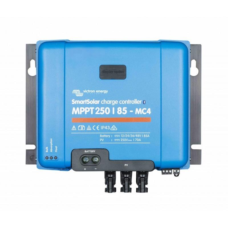 Régulateur de charge solaire - Victron Energy - MPPT  SmartSolar 250/85-MC4 VE.Can