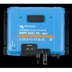 Kit solaire 40W - 12V comprenant : 1 x Panneau solaire A40 - 1 x Régulateur solaire EMA06 - 1 x Batterie AGM12-35