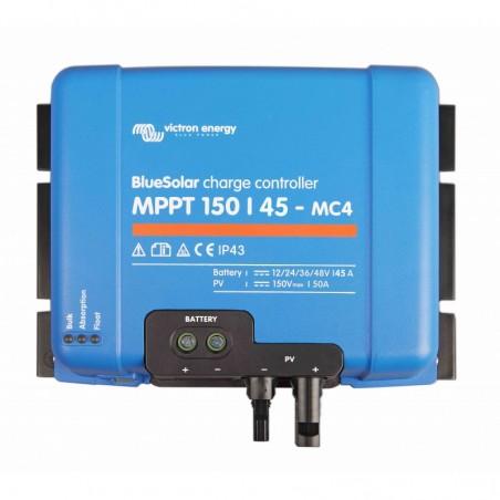 Régulateur de charge solaire - Victron Energy - MPPT SmartSolar 150/45-MC4