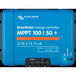 Régulateur de charge solaire - Victron Energy - MPPT SmartSolar 100/50