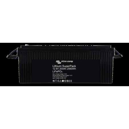 Batterie Lithium - Victron Energy SuperPack 12,8V/200Ah