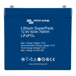 Batterie Lithium - Victron Energy SuperPack 12,8V/60Ah