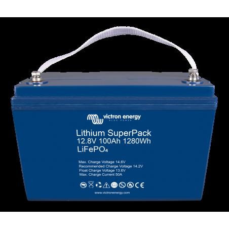 Batterie Lithium - Victron Energy SuperPack 12,8V/100Ah