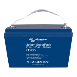 Batterie Lithium - Victron Energy  SuperPack 12,8V/100Ah haut courant