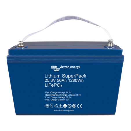 Batterie Lithium - Victron Energy - SuperPack 25,6V/50Ah