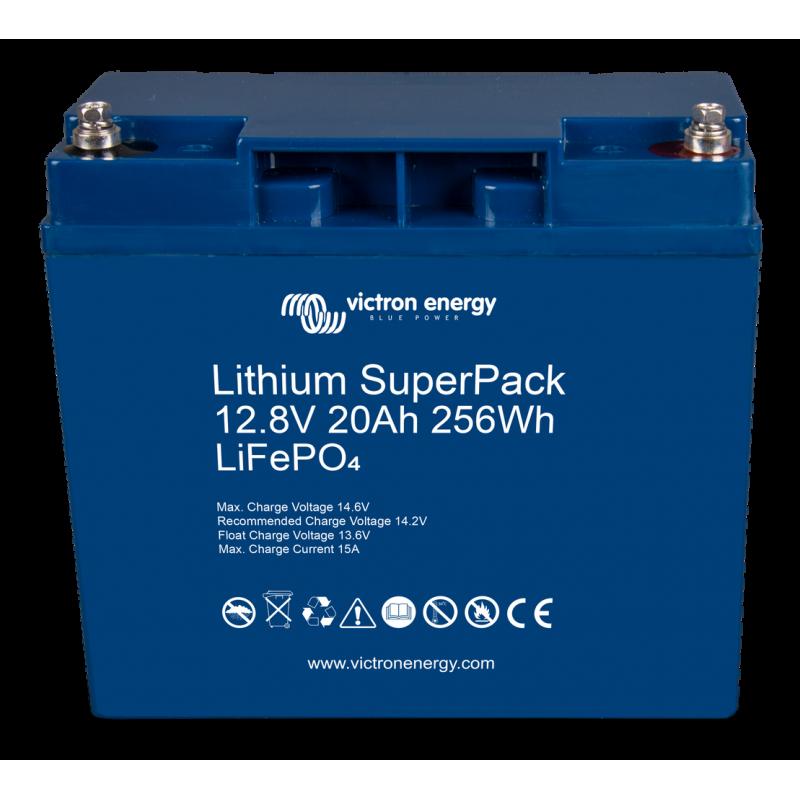 Batterie Lithium- Victron Energy SuperPack 12,8V/20Ah