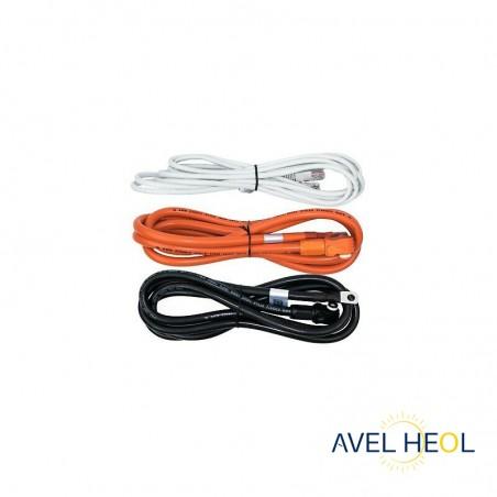 Cables puissance Pylontech US2000 2.4kWh 48V 50Ah
