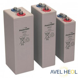 Batterie solaire Gel étanche - 2V 1170Ah - Enersys Powersafe 10 OPzV 1000