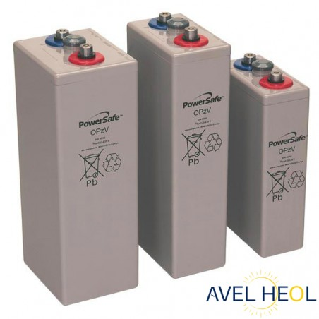 Batterie solaire Gel étanche - 2V 540Ah - Enersys Powersafe 7 OPzV 490
