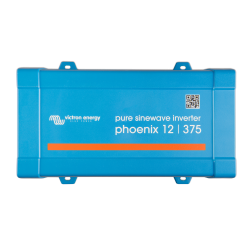 Convertisseur de tension Victron Energy Phoenix 12/375 VE.Direct de face sur fond blanc