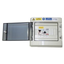 Kit solaire autoconsommation Triphasé Hybride 8.0 - 8880Wc