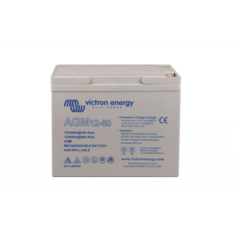 Batterie AGM Victron Energy - 12V/60Ah AGM Deep Cycle