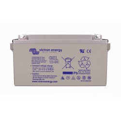 Batterie AGM Victron Energy - 12V/90Ah AGM Deep Cycle de face sur fond blanc