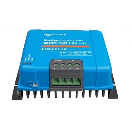 régulateur de charge solaire - Victron Energy BlueSolar MPPT 150/45-Tr