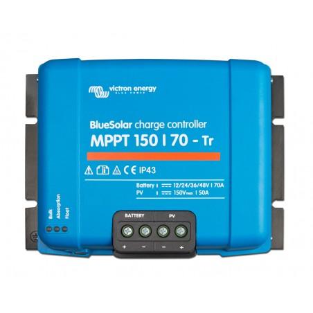 régulateur de charge solaire - Victron Energy BlueSolar MPPT 150/70-Tr