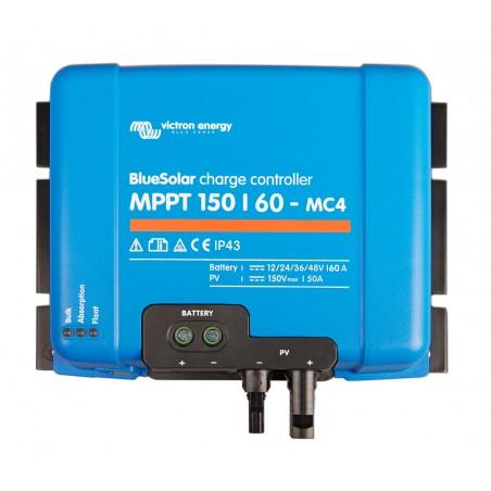 Régulateur de charge solaire - Victron Energy BlueSolar MPPT 150/60-MC4