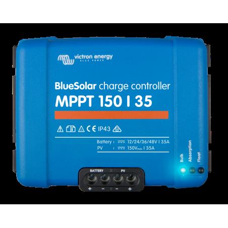 régulateur de charge solaire - Victron Energy BlueSolar MPPT 150/35