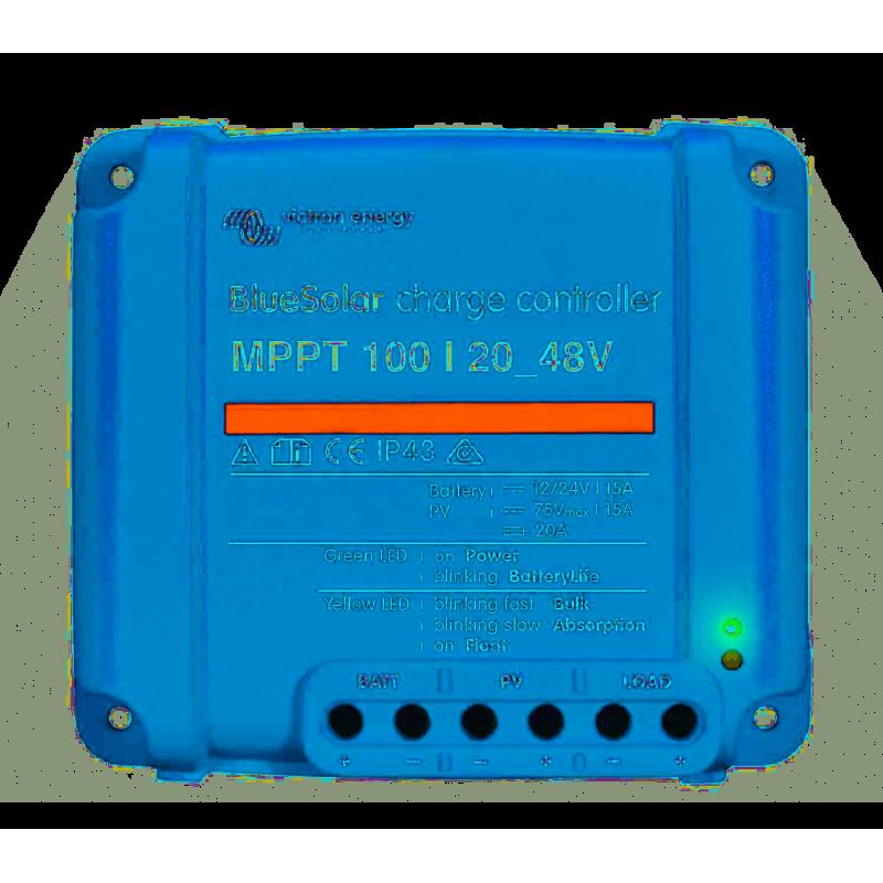 régulateur de charge solaire - Victron Energy BlueSolar MPPT 100/20_48V