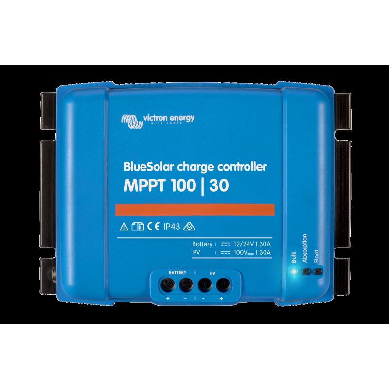 régulateur de charge solaire - Victron Energy BlueSolar MPPT 100/30