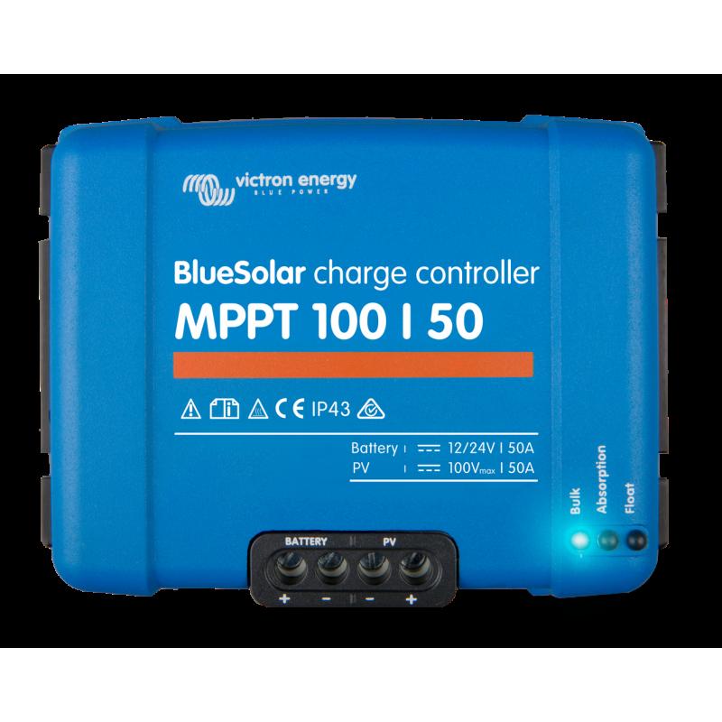 régulateur de charge solaire - Victron Energy BlueSolar MPPT 100/50