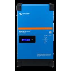 Convertisseur/chargeur Victron Energy Multiplus-II 48/3000 35-32 GX de face sur fond blanc