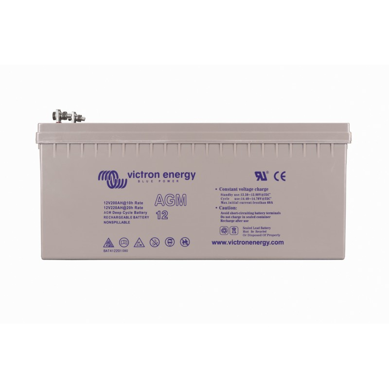 Batterie AGM Victron Energy - 12V/240Ah AGM Deep Cycle (insert M8)