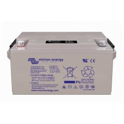 Batterie GEL Victron Energy - 12V/66Ah Gel Deep Cycle en plongée sur fond blanc