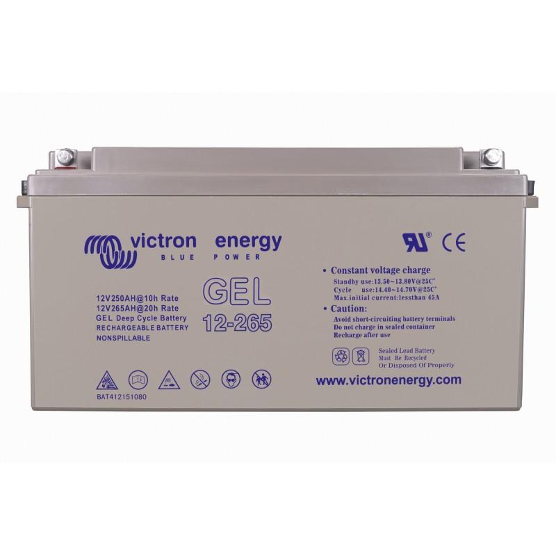 Batterie GEL Victron Energy - 12V/265Ah Gel Deep Cycle (M8)
