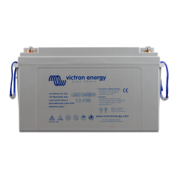 Batterie Plomb-Carbone Victron Energy - Lead Carbon 12V/106Ah (M8) de face sur fond blanc