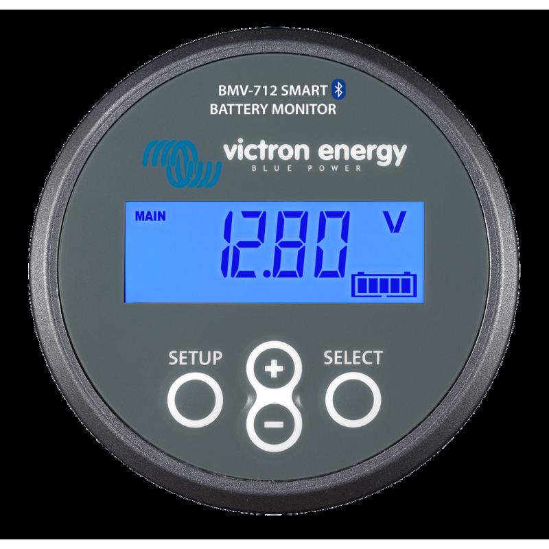 Compteur et Gestionnaire de batterie - Victron Energy - BMV 712 Smart