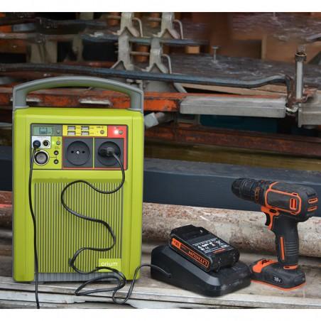 Kit 1000W Alimentation solaire de secours